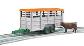 U02227 Veetransportaanhanger + Koe