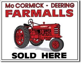 MP0026 McCormick Deering Farmalls