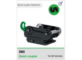 AT3200108 Steelwrist quick coupler S60