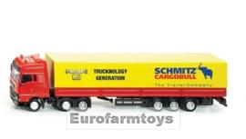 S03932X MAN vrachtwagen + 3as oplegger