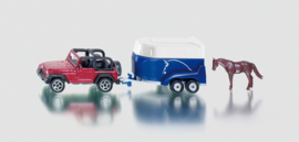 S01651 Jeep + paardentrailer