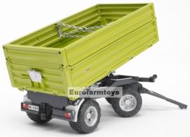 U02203U Fliegl driezijdige kiepkar