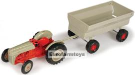E13706P  Ford 8N + Flare Box Wagon