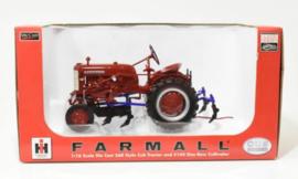 ZJD1675 CIH Farmall 560 + One Row Cultivator