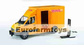 U02534 MB DHL  + palletheftruck