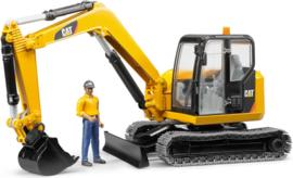U02466 Cat  Minibagger + machinist