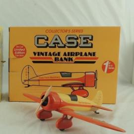ZJD700 Case Vintage Airplane Bank
