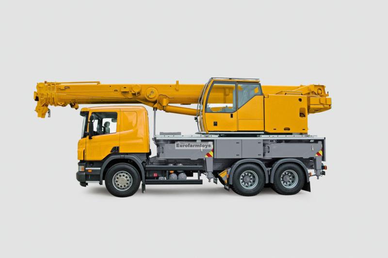 S01859 Telescoop Kraan Truck