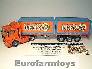 S03424CR Vrachtwagen Circus Renz