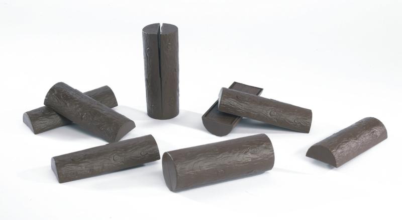 U02340 Gespleten boomstammen