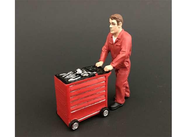 ADF32110 Jake + tool trolly CIH red