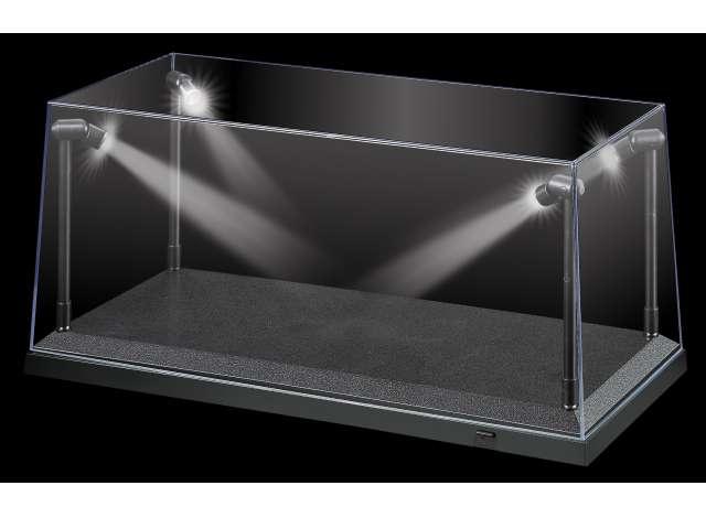 AT32911 led verlichting vitrine zwart