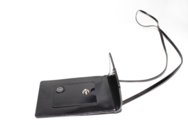 Phone Bag Small Black Lacquer
