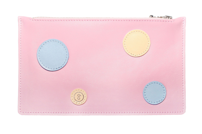 Pouch Dots Pink