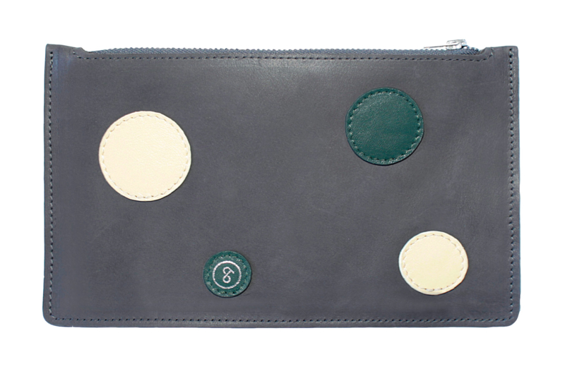 Pouch Dots Grey