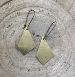Hangoorbellen brons driehoek