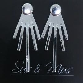 Speciale stekers zilver handje