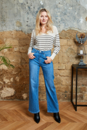 Jeans flaire H21706