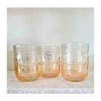 Ombre Orange glas