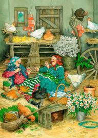 Fun in the hen house - Inge Löök