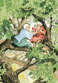 Up in the tree -Inge Löök
