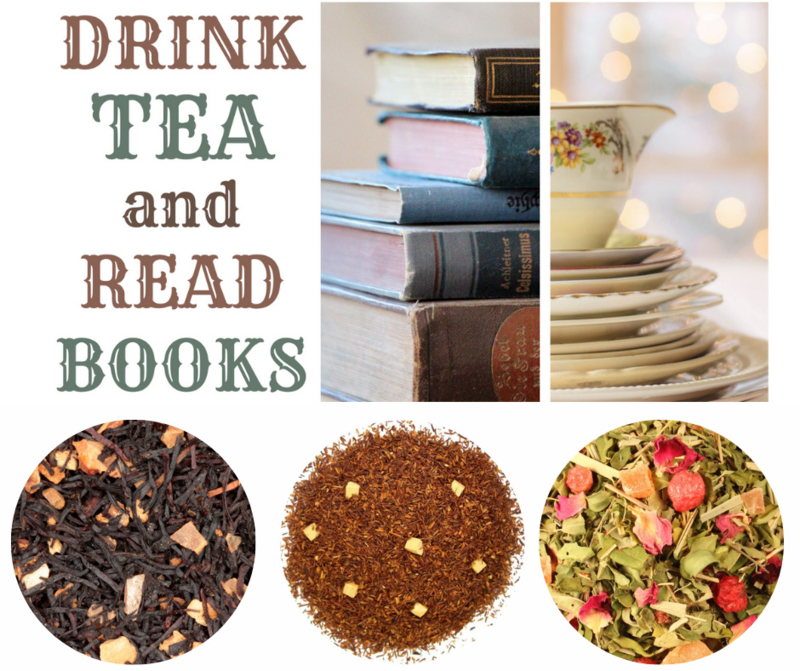 #instant happiness -Drink Tea & Read Books