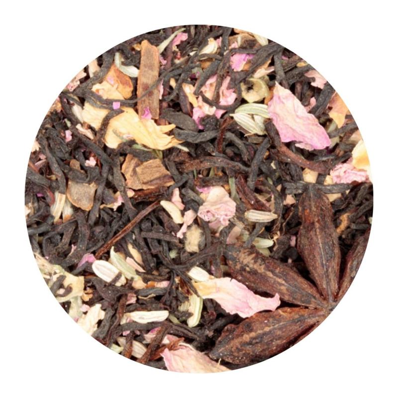 Knuffel -zwarte thee