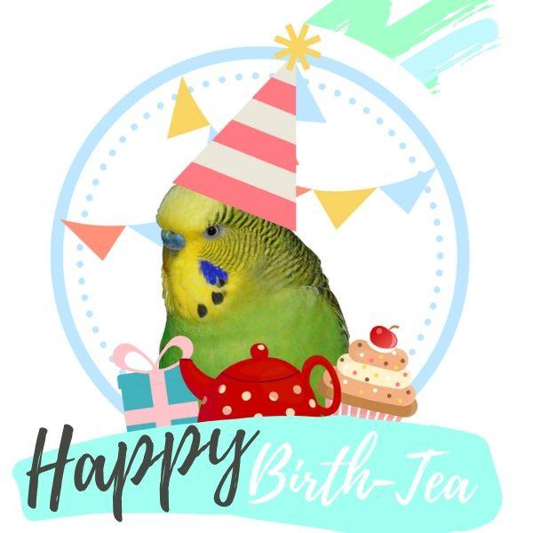 Happy Birth-Tea - zwarte thee
