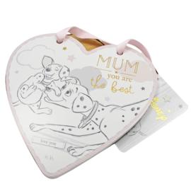 Dalmatiërs hart, 'Mum, you are the best'