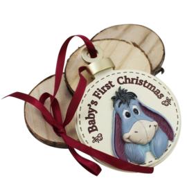 Hanger 3D 'Baby's 1st Christmas', Eeyore