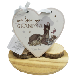 Bambi hart, 'We love you grandma'