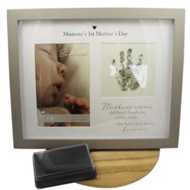 Fotolijst handafdrukje, Mummy's First Mothersday