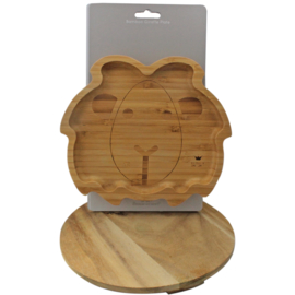 'Bamboo bord Leeuw', BamBam