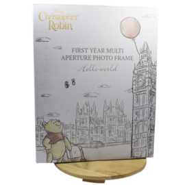 Fotolijst Pooh, 'My First Year', 'Christopher Robin'