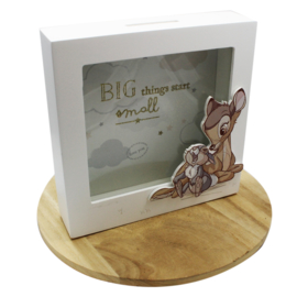 Spaarpot Bambi, MDF, 'Disney Magical Beginnings'