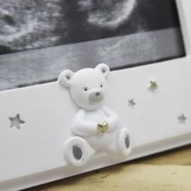 Echo fotolijstje wit, Bambino, 'Baby's scan'