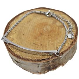 Gepersonaliseerde armband met zikonia, 'Voor Mama/Oma'