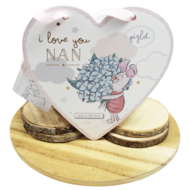 Knorretje hart, 'I love you nan'
