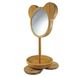 Bamboo spiegel op voet, BamBam
