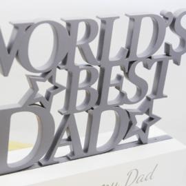 Fotolijstje, 'World's Best Dad'