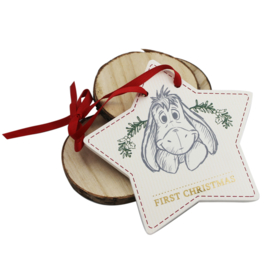 Hanger 'Baby's 1st Christmas', Eeyore