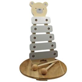 Houten Xylophone Teddy, 'Bambino'
