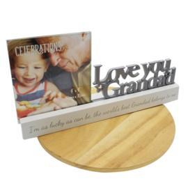 Fotolijstje, 'Love you Grandad'