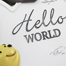 Pooh relief hart, 'Hello World'