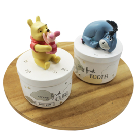 Tanden- en haarlokdoosje, Pooh