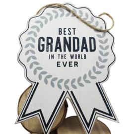 Hanger 'The Best Grandad'