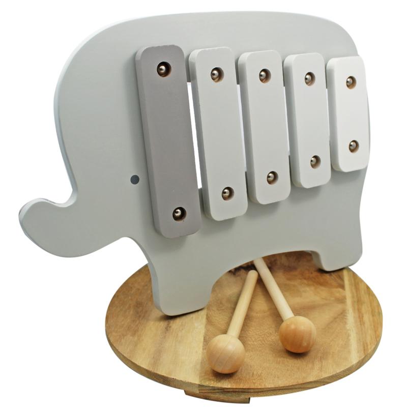 Houten Xylophone Olifant, 'Bambino'