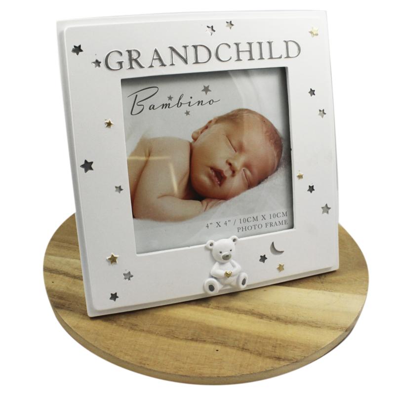 Fotolijstje wit, 'Grandchild'