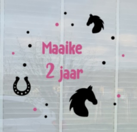 Sticker Paard Herbruikbaar