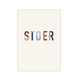 Poster A5 Stoer